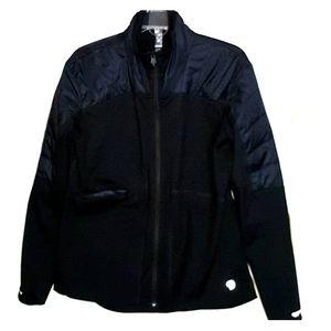 EUC fabric+slim puffer performance jacket